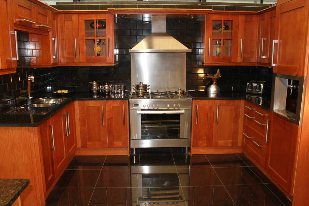 Cheap Kitchen Doors Shaker Oak Effecet